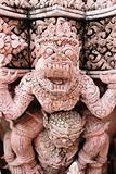 Statue in Thailand.