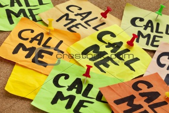 call me request