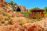 Gazebo In Texas Canyon