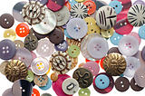 Pile of sewing buttons