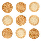 Set of salty crackers