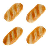 Set of four milk bread