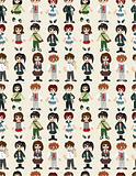 seamless student pattern