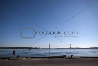 Sky blue Bridge