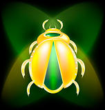 golden beetle