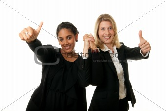business team thumb up