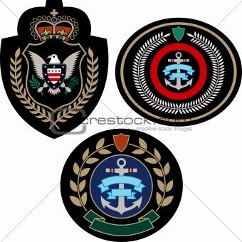 adventure emblem set