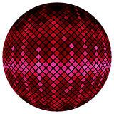Pink mosaic ball