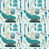 cartoon Dentists element seamless pattern