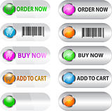 Label/button set for e commerce
