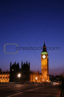 Big Ben, London Night View