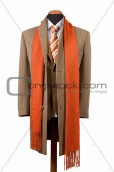 Business fashion, elegant suit