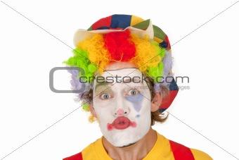 Portrait of colorful Clown