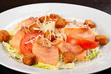 smoked salmon filet salad