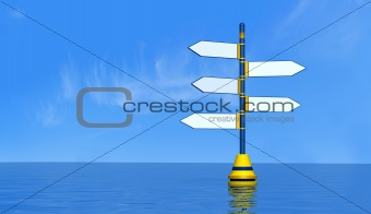 blank maritime signal