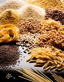 pasta cereals and legumes