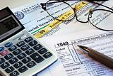 Calculate the income tax and other tax related documents