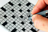 Solving the cross word puzzle from the newspaper