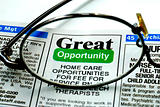 Focus on the great opportunity in job searching