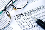 Working on the United States Income Tax 1040