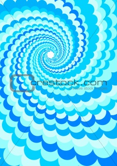 Abstract Background - Water Twirl