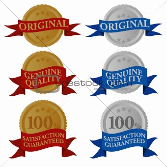 Set of Quality Seals