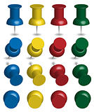 Color Pushpins