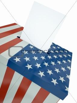 US ballot