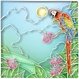 Batik parrot