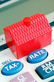 Calculate the mortgage rate and tax in real estate