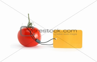 Tomato With Price Tag