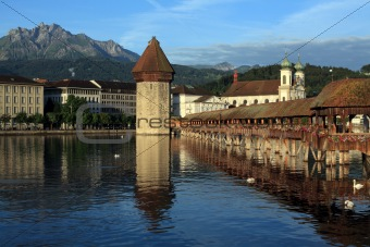 City of Lucerne in Switzerland