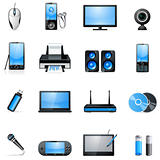 electronic icon set