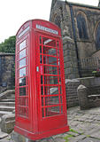British Red Telephone Box