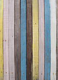 Colourful Wooden Wall