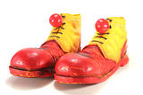 clown shoes with clown noses
