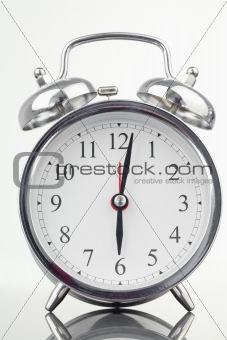 Alarm clock isolated
