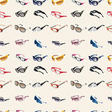 seamless Glasses & Sunglasses pattern