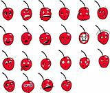 Cherries Faces