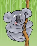 cartoon koala