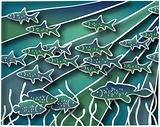 Fish batik