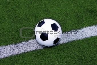 ball on line