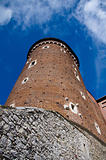 WAWEL CASTLE TOWER. KRAKOW. POLAND