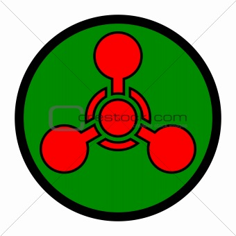 Image 3960540: Chemical Weapon Symbol from Crestock Stock ... Chemical Weapons Symbol