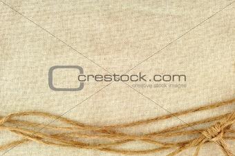 frame made of ropes