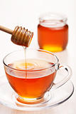 tea with honey