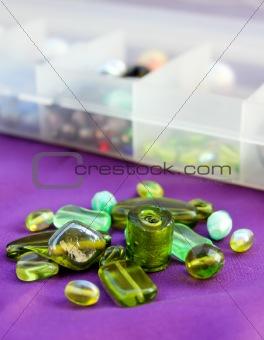 Green Beads