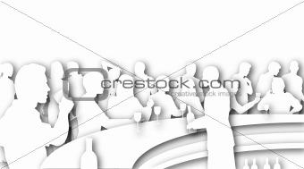 Bar cutout