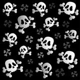 Pirate skulls and bones