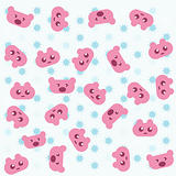 pink teddy bear background